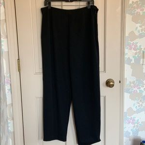 Talbots Size 16 Black Pants/Trousers